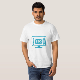T-shirt de services de maintenance de SEO