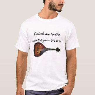T-shirt de session de confiture de mandoline
