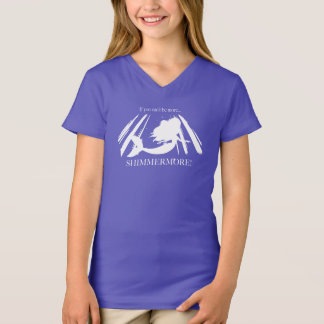 T-shirt de Shimmermore de la sirène de la fille