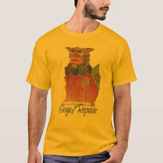 T-shirt de Shisa de République de Goya