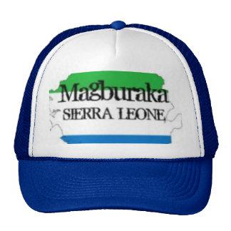 T-SHIRT de SIERRA LEONE ET etc. (magburaka) Casquette Trucker