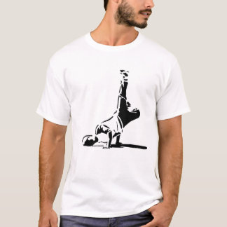 T-shirt de silhouette de BBoy