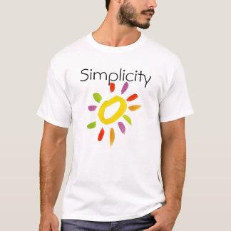 T-shirt de simplicité