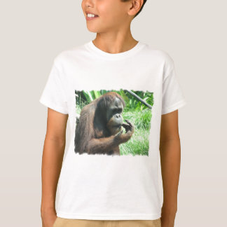 T-shirt de singe d'orang-outan