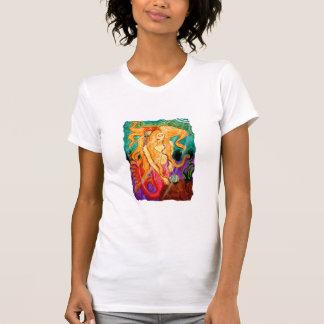 T-shirt de sirène de sirène de Sanibel