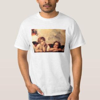 T-shirt de Sistine Madonna d'anges de Raphael
