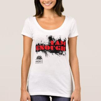T-shirt de slogan d'étreinte de projet