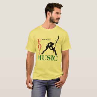 T-shirt de Smasher de guitare de Fox Music Company