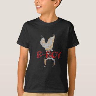 T-shirt de smurf de BBoy