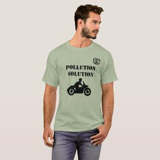 T-shirt de solution de pollution