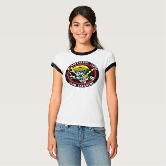 T-shirt de sonnerie de Bella de correction du chat