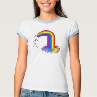 T-shirt de sonnerie de dames