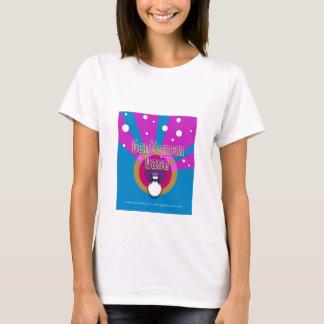 T-shirt de sonnerie de dames de vase à monsieur