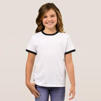 T-shirt de sonnerie de filles
