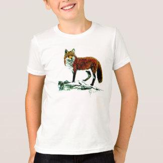 T-shirt de sonnerie de Fox d'enfants
