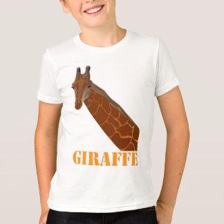 T-shirt de sonnerie de girafe