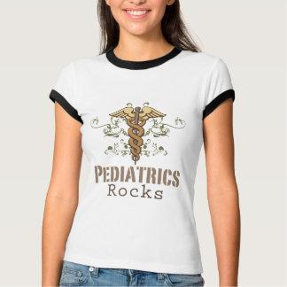 T-shirt de sonnerie de pédiatre de roche de