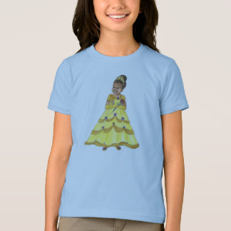 T-shirt de sonnerie de princesse de beauté