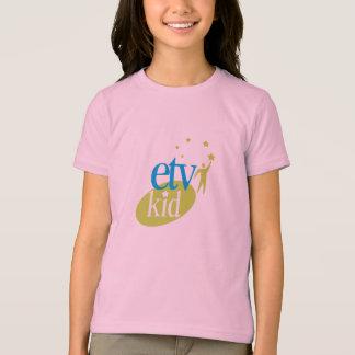 T-shirt de sonnerie d'enfant d'ETV