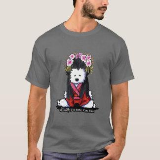 T-shirt de soulagement du Japon de chien de Westie