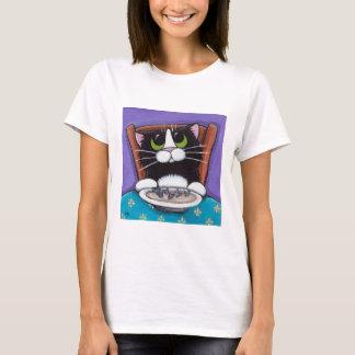 T-shirt de soupe à queue de poissons