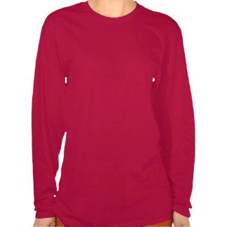 T-shirt de sourire de femmes de léopard de bande d