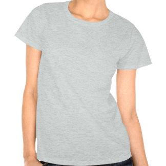 T-shirt de sourire mignon de femmes d'hyène de ban