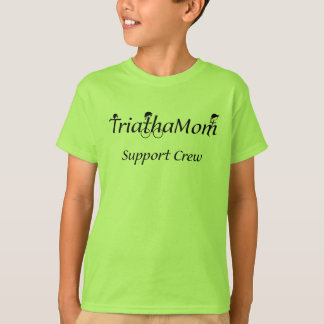 T-shirt de soutien de TriathaMom de l'enfant