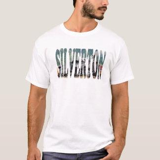 "T-shirt de souvenir de train de ""Silverton"""