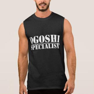 T-shirt de spécialiste en Ogoshi (sans manche)
