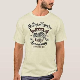 T-shirt de SPEED-WAY de TONNERRE du ROULEMENT des