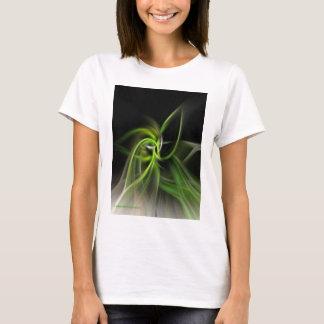 T-shirt de SpinArt de lame d'herbe