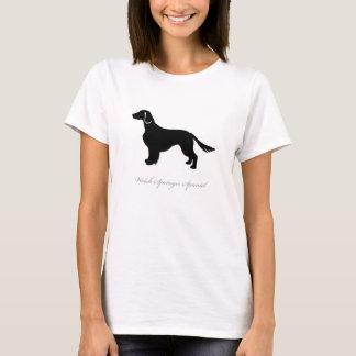 T-shirt de springer spaniel de Gallois (naturels