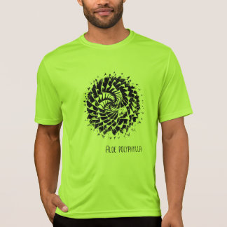 T-shirt de Succulent de polyphylla d'aloès