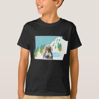 T-shirt de surfeur d'écureuil