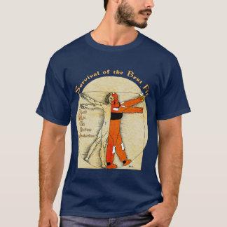 T-shirt de survie d'AMSEA - conception sur l'avant