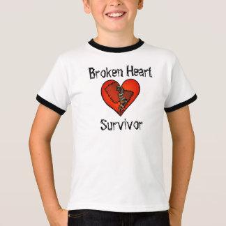 """T-shirt """"de survivant du coeur brisé"""""""