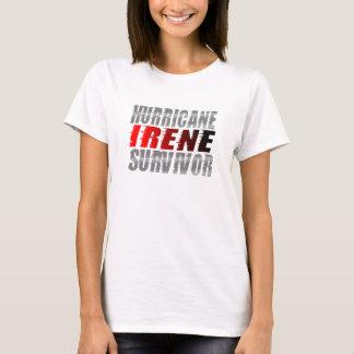 T-shirt de survivante d'Irène d'ouragan