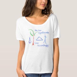 T-shirt de Symbiont de cou de scoop