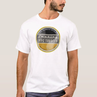 T-shirt de tabac de tuyau de tabagisme
