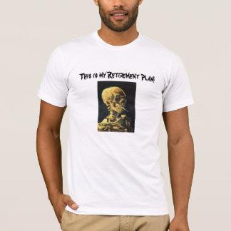 T-shirt de tabagisme de régime de retraite de