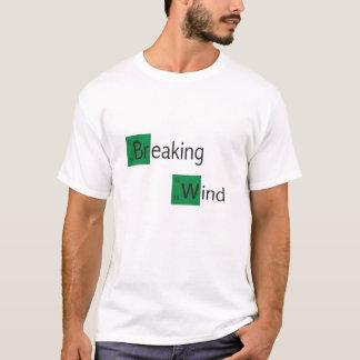 T-shirt de table périodique de vent de rupture