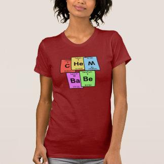 T-shirt de Tableau périodique de bébé de Chem