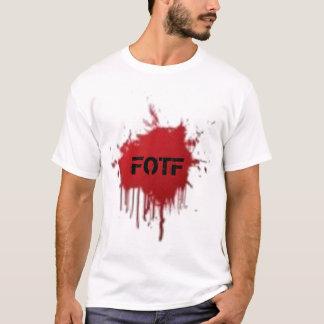 T-shirt de tache de sang de FOTF