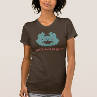 T-shirt de tache d'encre