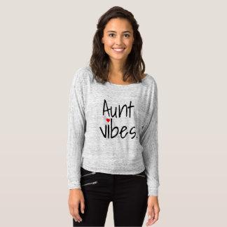 T-shirt de tante de vibraphone de tante nouveau