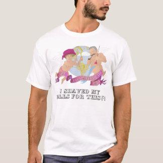 T-shirt de tapis à longs poils - déçu