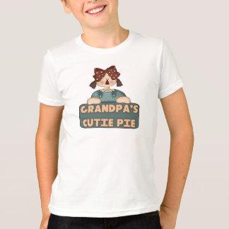 T-shirt de tarte de Cutie de grand-papas d'enfants