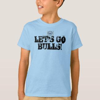 """T-shirt de taureaux de taureaux de Bolton """"Lets"""