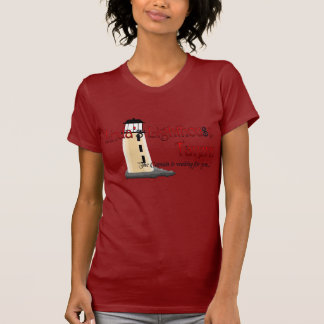 T-shirt de taverne du phare de Linda